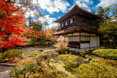 Ginkaku-ji, the Temple of the Silver Pavilion Royalty Free Stock Images