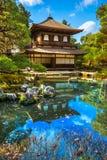 Ginkakuji (ασημένιο περίπτερο), Κιότο, Ιαπωνία Στοκ εικόνα με δικαίωμα ελεύθερης χρήσης