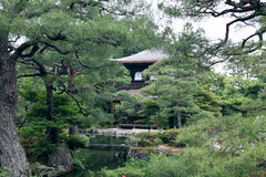 Ginkakuji Buddhist temple Royalty Free Stock Images