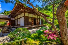 Ginkakuji Kannon Hall Stock Photography