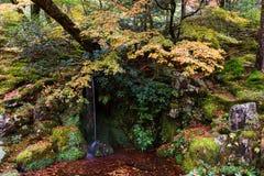 Ginkakuji ogród z siklawą, Kyoto zdjęcia royalty free