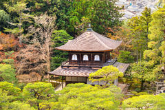Ginkakuji (Silver Pavilion), Kyoto, Japan. Royalty Free Stock Photos