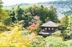 Ginkakuji or silver pavilion Royalty Free Stock Photos