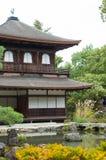 Ginkakuji or silver pavilion Royalty Free Stock Photo