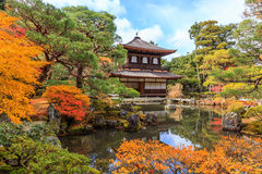 Ginkakuji (Silver Pavilion) is a Zen temple along Kyoto's easter Stock Photos
