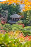 Ginkakuji Silver (The Silver Pavilion) Royalty Free Stock Image