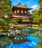 Ginkakuji (silverpaviljong), Kyoto, Japan Royaltyfri Bild