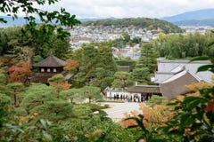 Ginkakuji tempel, Kyoto, Japan Royaltyfri Bild