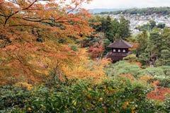 Ginkakuji tempel, Kyoto, Japan Royaltyfria Bilder