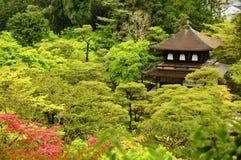 Ginkakuji tempel (silverpaviljongen), Kyoto Arkivfoto