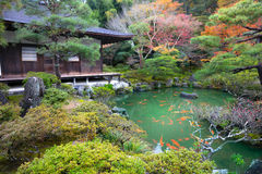 Free Ginkakuji Temple Royalty Free Stock Image - 72341596