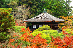 Ginkakuji temple with autumn colors, Kyoto Royalty Free Stock Photography
