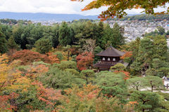 Ginkakuji Temple and Garden Tokyo, Japan. Royalty Free Stock Photos