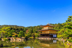 Ginkakuji temple, gold temple. Royalty Free Stock Photography