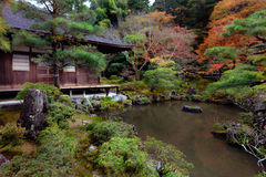 Ginkakuji Temple Royalty Free Stock Photography