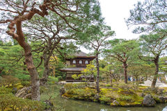 Ginkakuji temple in Kyoto, Japan Royalty Free Stock Image