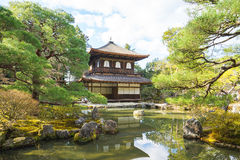 Ginkakuji Temple In Kyoto, Japan Royalty Free Stock Photography