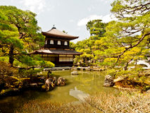 Ginkakuji temple, Kyoto, Japan 1 Stock Images