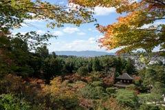 Ginkakuji temple, Kyoto, Japan. Stock Photos