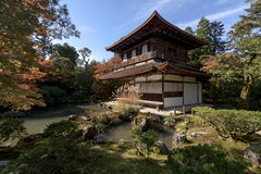 Ginkakuji temple, Kyoto, Japan. Royalty Free Stock Photo