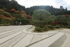 Ginkakuji temple, Kyoto, Japan. Royalty Free Stock Images
