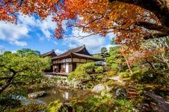 Ginkakuji temple in Kyoto Japan Stock Photography