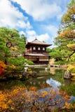 Ginkakuji temple - Kyoto Japan Stock Photo