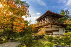 Ginkakuji temple Royalty Free Stock Images