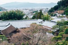 Ginkakuji Temple of the Silver Pavilion in Kyoto, Japan Stock Image