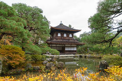 Ginkakuji temple or the Silver Pavilion in Kyoto Royalty Free Stock Image