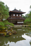 Ginkakuji temple or the Silver Pavilion in Kyoto Stock Photo