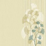 Ginkgo background Royalty Free Stock Photography