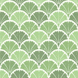 Ginkgo leaves. Seamless pattern. Stock Images