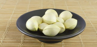 Ginkgo nuts Royalty Free Stock Image