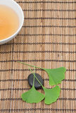 Ginkgo tea Royalty Free Stock Photography