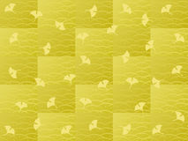 Ginkgoes background Stock Images