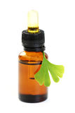 Ginko oil Royalty Free Stock Images