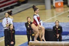 2015 ginnastica del NCAA - Maryland Fotografie Stock Libere da Diritti