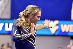 2015 ginnastica del NCAA - stato di WVU-Penn Fotografia Stock
