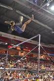 2015 ginnastica del NCAA - Virginia Occidentale Immagine Stock Libera da Diritti