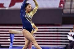 2015 ginnastica delle signore del NCAA - WVU Fotografia Stock Libera da Diritti