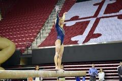 2015 ginnastica delle signore del NCAA - WVU Fotografie Stock Libere da Diritti
