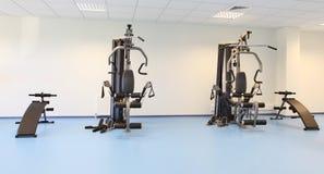 Ginnastica e macchina del muscolo Immagini Stock Libere da Diritti