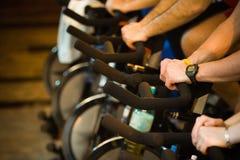 In ginnastica - stile di vita attivo 2 Immagine Stock Libera da Diritti