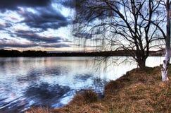 ginninderra湖 库存图片