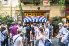 Gino Sorbillo Pizzeria, Naples, Italy Stock Photo
