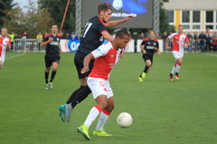 Gino Van Kessel - football Royalty Free Stock Image