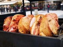 Ginocchio impressionante della carne di maiale del cuisine†di Praga» immagini stock libere da diritti