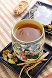 Ginseng herbata Fotografia Royalty Free