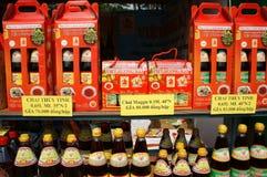Ginseng rojo puro con la miel y el azafrán con la miel Fotos de archivo libres de regalías